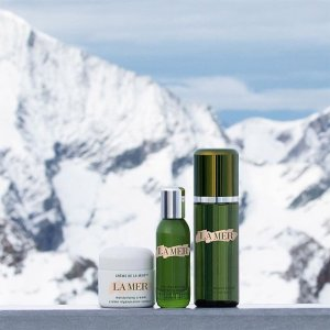 Free  luxury travel size Concentrate value $190with $300 purchase @ La Mer