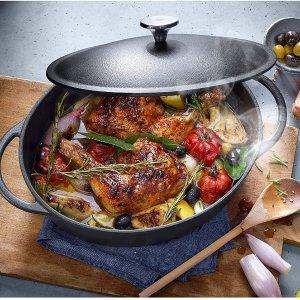 5.9折! 仅€99.99收 原价€169.99WMF 感应式铸铁锅 优质搪瓷 表面铸铁 你的炖煮小能手