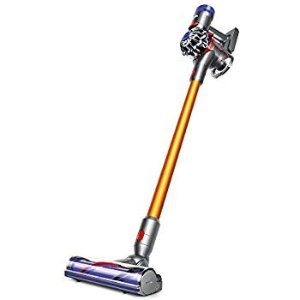 Amazon.com - Dyson V8 Absolute Cordless Stick Vacuum Cleaner, Yellow (214730-01) -