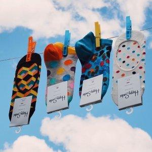 低至4折+包邮 蕾丝内裤$4.98Nordstrom 女士内衣、家居服热卖 Happy Socks 2双$8.7
