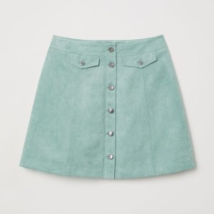 H&M短裙