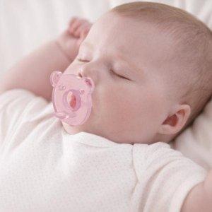 现价$3.99(原价$7.49)白菜价:Philips 新安怡 小熊安抚奶嘴 2个装 宝宝1秒变安静