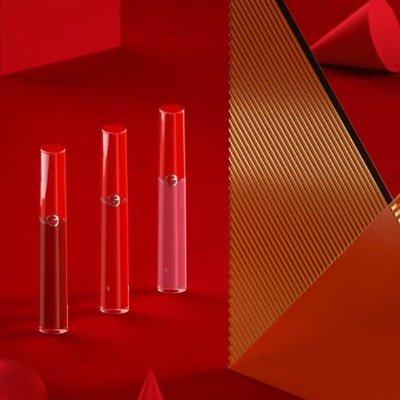 $98 满额加送正装口红Armani 红管唇釉4件套 405、501热门色号一盒搞定