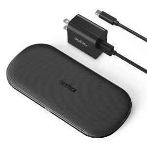 CHOETECH 双设备无线充电板