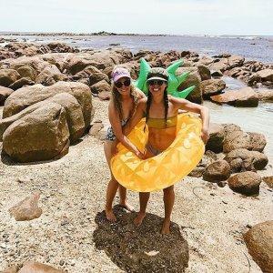 Sunnylife菠萝游泳圈