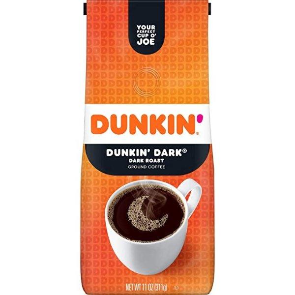 Dunkin' 深焙咖啡粉 12oz