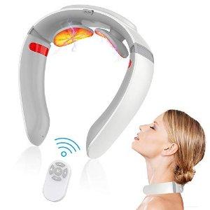 9折+9折,人体工学U形设计颈部按摩仪