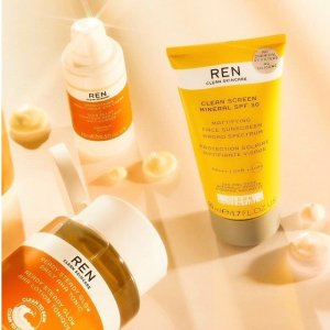 20% Off+GWPLast Day: REN Skincare  Friends and Family Skincare Sale