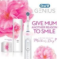 Oral-B Genius 9000 旗舰版智能电动牙刷套装 白色樱花限量版