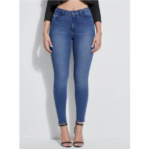 GUESS Eco 1981 High-Rise Skinny Jeans at Guess