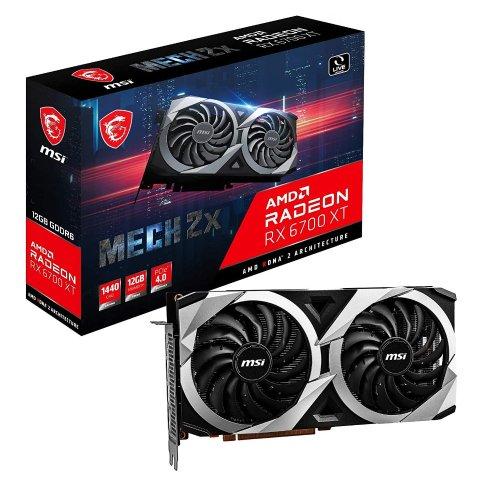 现货$1349MSI微星 Radeon™ RX 6700 XT 12G 游戏显卡