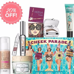 25% OffSitewide @ Benefit Cosmetics
