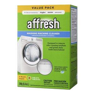 Affresh 高效洗衣机清洁片 6个