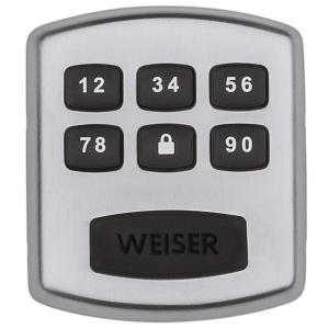 $49包邮(原价$99) 2色选Weiser Powerbolt 密码门锁 麻麻再也不用担心我忘带钥匙啦