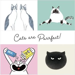 大童款£7.9 成人款£12.9Uniqlo×Cats are Purrfect 系列上新 爱猫人士必入 Get圆咕隆咚小可爱