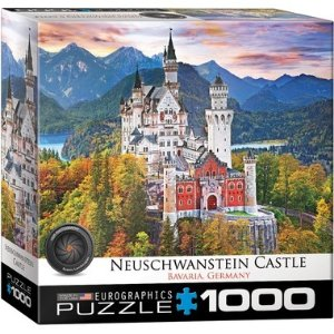 德国新天鹅堡 1000块