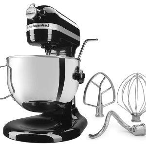 $307.83(原价$619.97)KitchenAid KL26M1XCMOB 6夸脱 专业厨师机+烤盘2件套