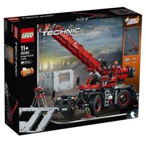 Lego科技系列18旗舰复杂地形起重机