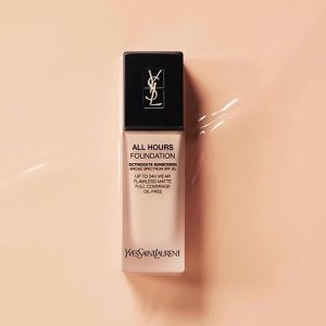 $10 Two shadesALL HOURS FOUNDATION @ YSL Beauty