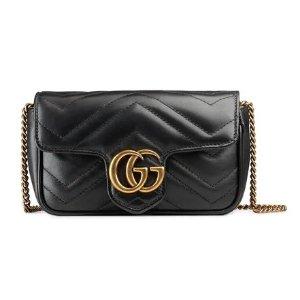 aea5c892b703 Hot!  890.00. Gucci GG Marmont matelasse leather super mini bag