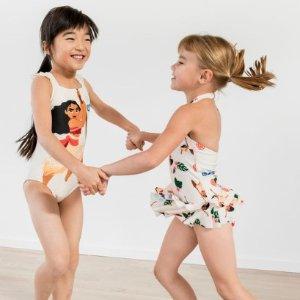 2.5折起+$49包邮折扣升级:Hanna Andersson 儿童泳衣、防晒服、沙滩浴巾年中大促