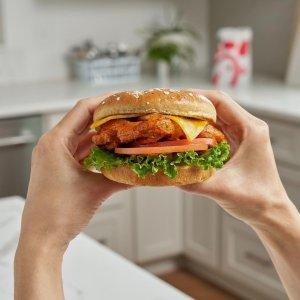 香辣板烧鸡腿堡Chick-fil-A 新口味发布