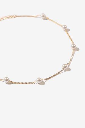 Harrold Gold 珍珠脚踝链
