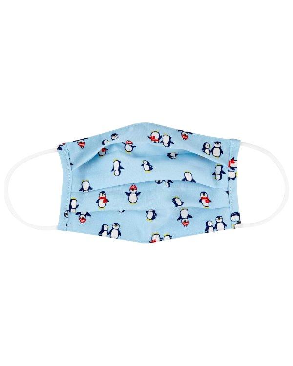 儿童企鹅图案口罩