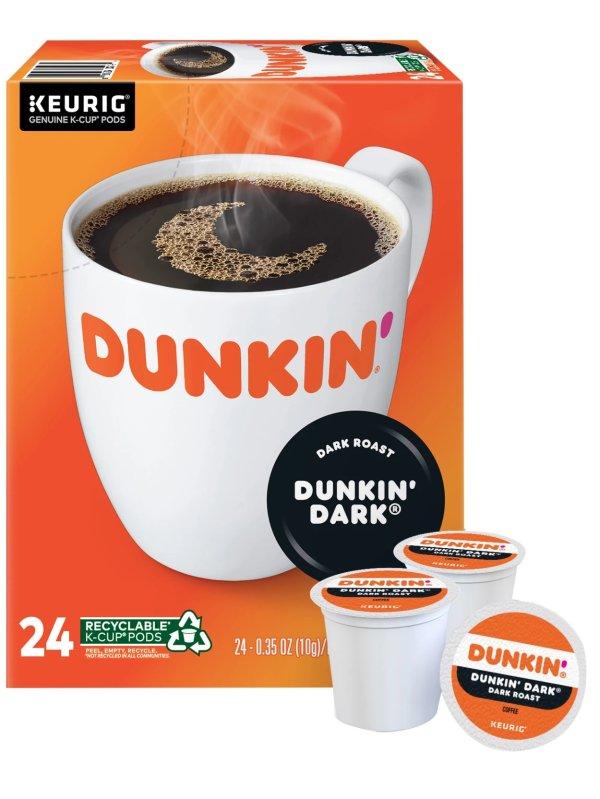 K-Cup 深焙咖啡胶囊 24颗
