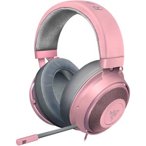 RazerKraken Gaming Headset Quartz Pink 游戏耳机
