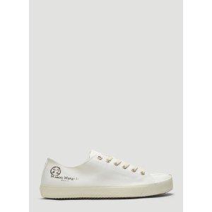 Maison Margiela男士Tabi Low-Top 帆布鞋
