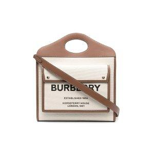 BurberryLogo Printed托特包