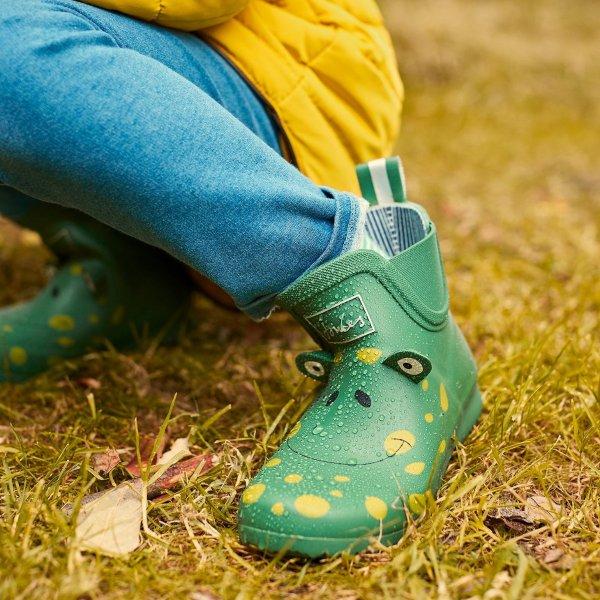儿童青蛙雨靴