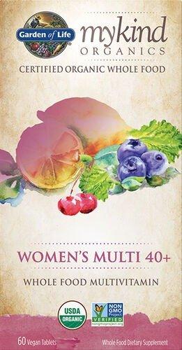 40岁+女性有机复合维生素配方 60粒