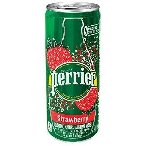 Perrier草莓味气泡矿泉水 250ml 30罐