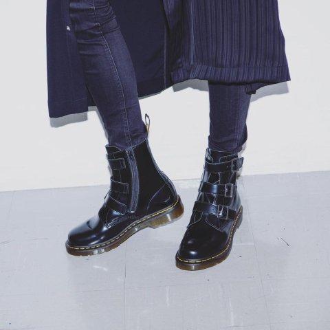 7.5折!黑色1460仅£111Dr.Martens 爆款1460马丁靴、春夏1461小皮鞋超低价