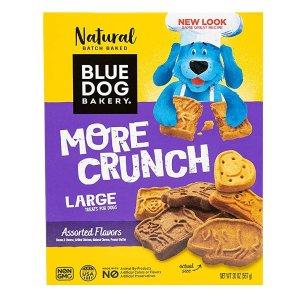 $19.12 包邮Blue Dog Bakery 纯天然狗狗饼干 6盒