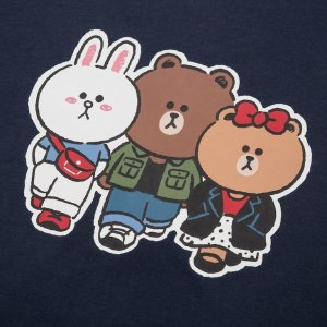 UniqloLINE FRIENDS UT (SHORT-SLEEVE GRAPHIC T-SHIRT)