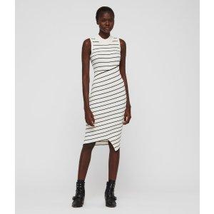 ALLSANTS条纹针织裙