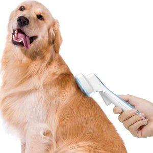 $10.99入宠物毛梳史低价:宠物毛刷 铲屎官们的必备法宝 再也不怕家里都是狗毛了