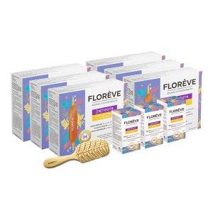 Floreve防脱发套装 3个月用量
