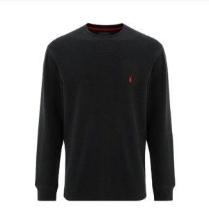 7色可选 双12限2小时¥164美国品牌 拉夫·劳伦 男士圆领长袖T恤