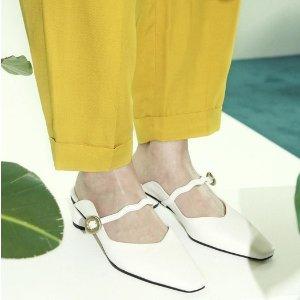 即将截止:W Concept 全场平底鞋矮跟鞋特卖 收韩星博主同款