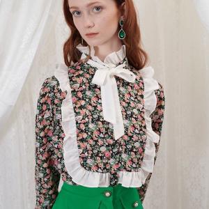低至5折 £39收蝴蝶结衬衣Sister Jane 宫廷风衬衫上衣大促 可正装可休闲的必备实用单品