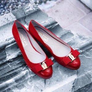低至6折 £241收Vara蝴蝶结鞋Salvatore Ferragamo菲拉格慕 英国官网美包美鞋年底大促