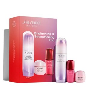 Shiseido$230 valueBrightening & Strengthening Trio Set (A $230 Value)