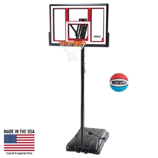 $132.99网络周一: Lifetime 便携式可调整高度篮球架