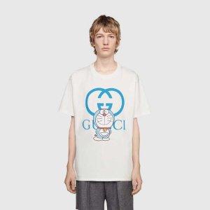 Gucci - Doraemon x Gucci oversize T-shirt