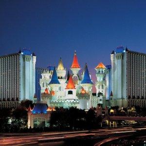 低至$20/晚MGM 集团旗下 拉斯维加斯3.5星石中剑酒店低价