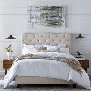 低至3折 封面款仅$199Macy's 精选沙发、床架等家具热卖